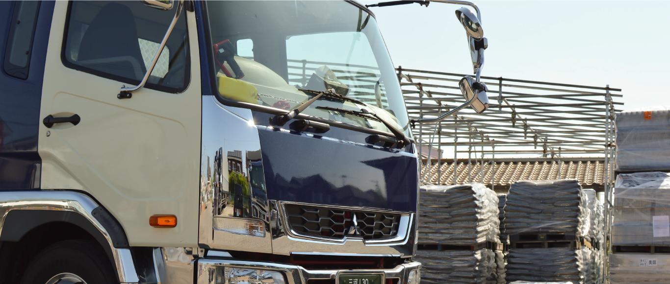 大型車による短・中距離配送の3つの強み